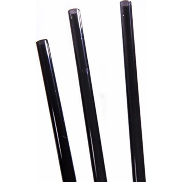 Black Frappe Straight Drinking Straw 4 Quot 370050bl