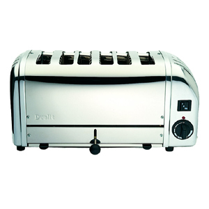 Dualit 6 Slice White End Toaster 60146 Galgorm Group