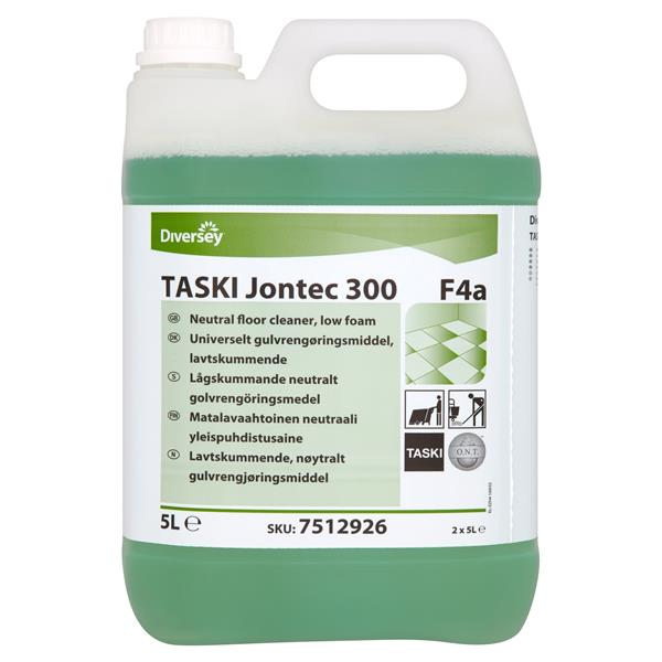 Jontec 300 Low Foam Floorcleaner 5ltr 7512925 Galgorm