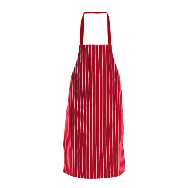 Red Amp White Nylon Waterproof Apron A581 Galgorm Group