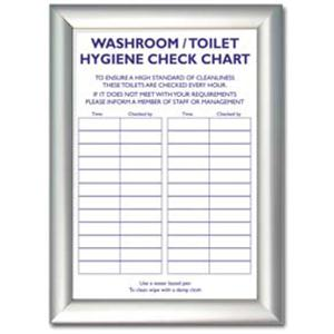 Toilet Check List Sheet Sign St18910 Galgorm Group