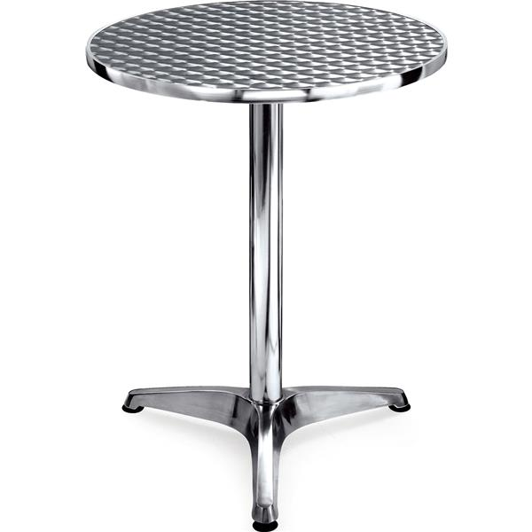 Round aluminium table yb 504 galgorm group catering for Sillas para fuente de soda