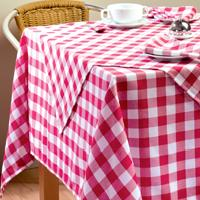 Gingham-Polyester